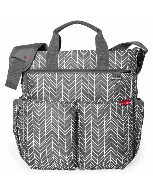 Skip-Hop-Bolso-Maternal-Duo-Grey-Feather