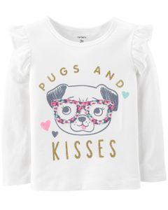 Remera-Manga-Larga-con-Volados-Pugs-and-Kisses