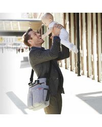 Skip-Hop-Bolso-Maternal-Duo-Heather-Grey