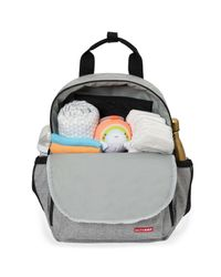 Skip-Hop-Mochila-Maternal-Duo-Heather-Grey-Melange