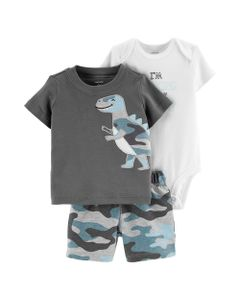 Carter-s-Set-3-piezas-Body-manga-corta-remera--y-short--dinosaurios-