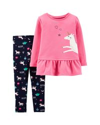 Carter-s-Set-2-piezas--Remera-manga-larga-y-Calzas--Unicornio-