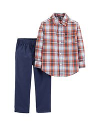 Carter-s-Set-2-Piezas-Pantalon-largo-denim-y-camisa-manga-larga