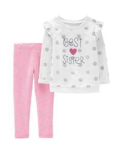 Carter-s-Set-2-piezas-Remera-Manga-larga-y-Calzas--Best-Sister-