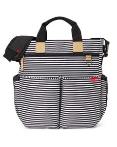 Skip-Hop-Bolso-Maternal-Duo-Signature-Black-White-Stripe