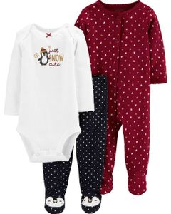 Carter-s-Set-3-Piezas-Body-Osito-y-Pantalon--Pinguino-