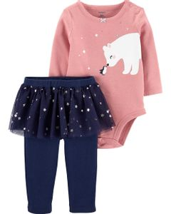Carter-s-Set-2-piezas-Body-y-Pantalon-con-Tutu--Oso-polar-