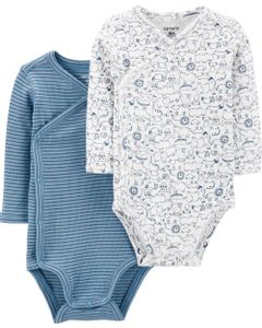 Carter-s-Pack-2-Bodys-con-broches-laterales