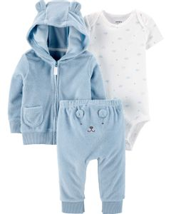 Carter-s-Set-3-Piezas-Body-Campera-y-Pantalon--Osito-