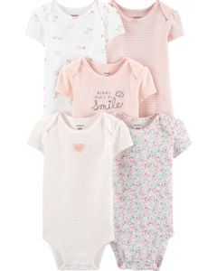 Carter-s-Pack-5-Bodys--Floral-