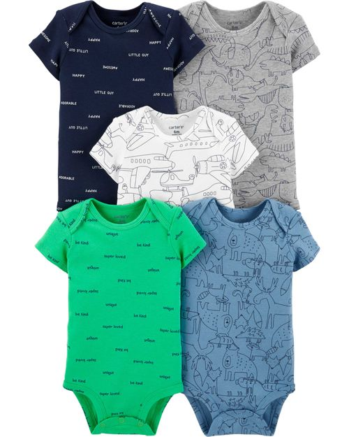 Carter-s-Pack-5-Bodys--Avion-