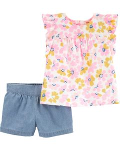 Carter-s-Set-2-piezas-Remera-y-Short--Floral-