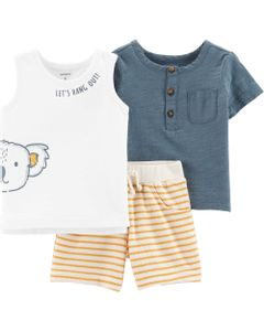 Carter-s-Set-3-piezas-Remeras-y-short--Koala--