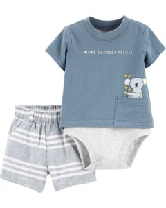 Carter-s-Set-2-piezas-Body-y-short-a-rayas--Koala-