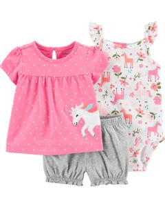 Set-3-piezas-Body-Remera-y-Short-Unicornio