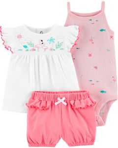 Set-3-piezas-Body-Remera-y-Short-Flamencos