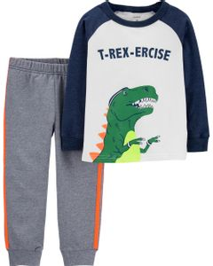 Set-2-piezas-Remera-manga-larga-y-Jogging-T-Rex