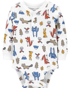 Carter-s-Body-manga-larga--Animales-