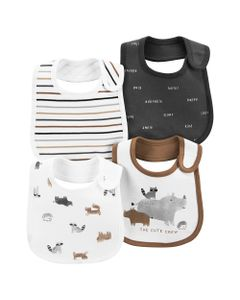 Carter-s-Pack-4--Baberos--Animales-