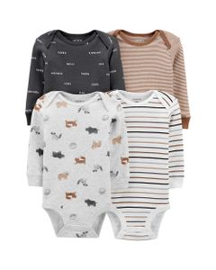 Carter-s-Pack-4--Bodys--Animales-