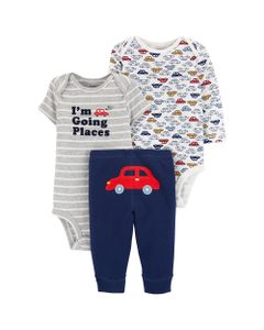 Carter-s-Set-3-Piezas-Bodys-y-Pantalon--Autos-